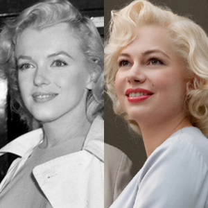 Marilyn Monroe, Michelle Williams, My Week with Marilyn